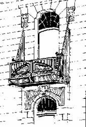 Архитектура модерн ар нуво балкон в