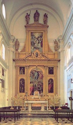 Эль греко алтарь церкви санто доминго
