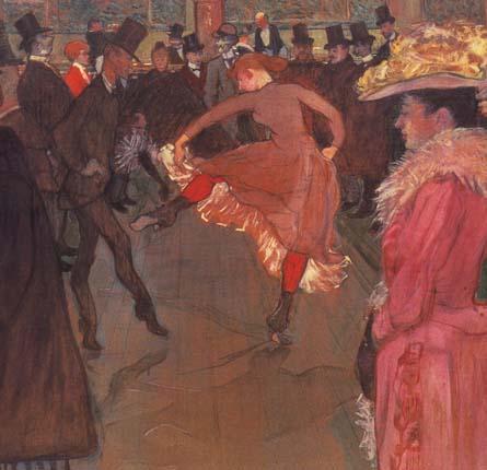 Тулуз-Лотрек. Танец в Мулен Руж