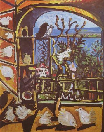 Пикассо птенцы