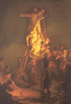 Рембрандт. Снятие с креста