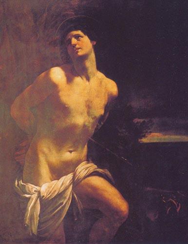 Святой себастьян 1617 18