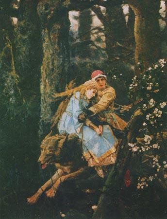 Васнецов иван царевич на сером волке