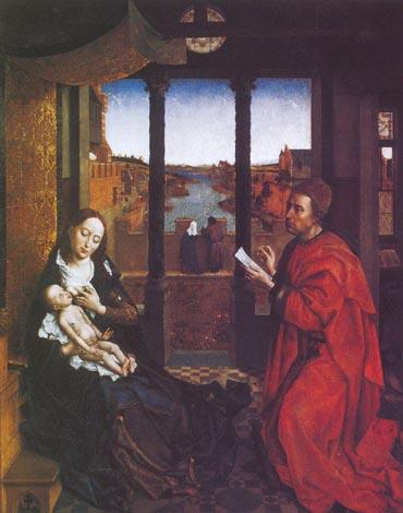 Святой Лука, рисующий Мадонну