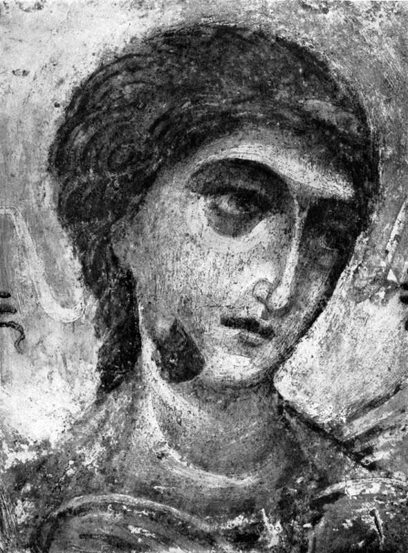 106 ангел фрагмент фрески