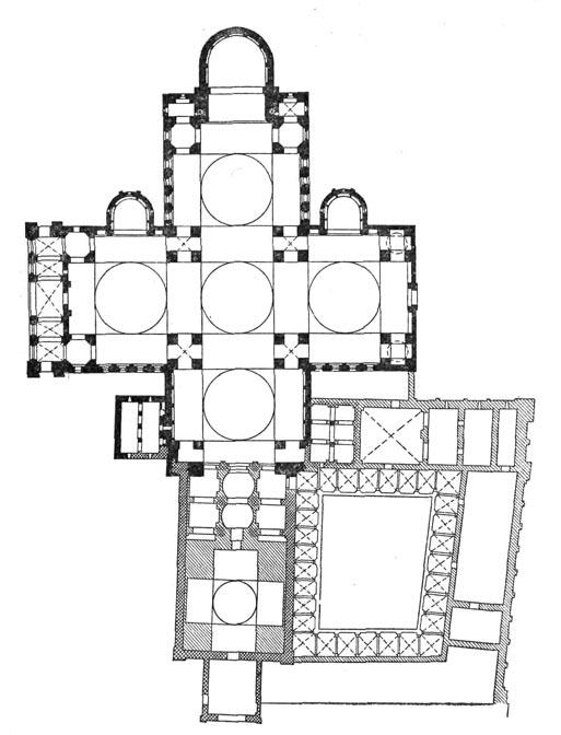 Схема кладки каркаса