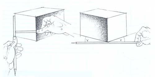 рисунок куба: