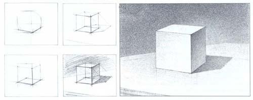 Рисование куба