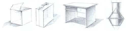 Рисование бытовых предметов