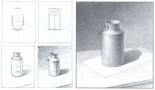 Рисование бидона