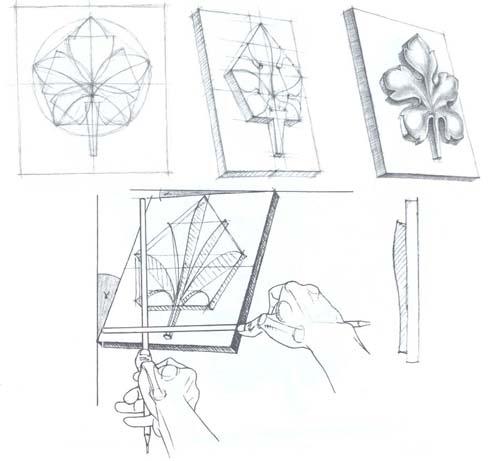 Рисование орнамента