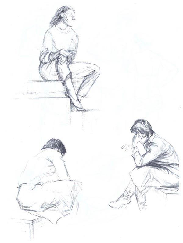 Графика фигуры фото карандашом